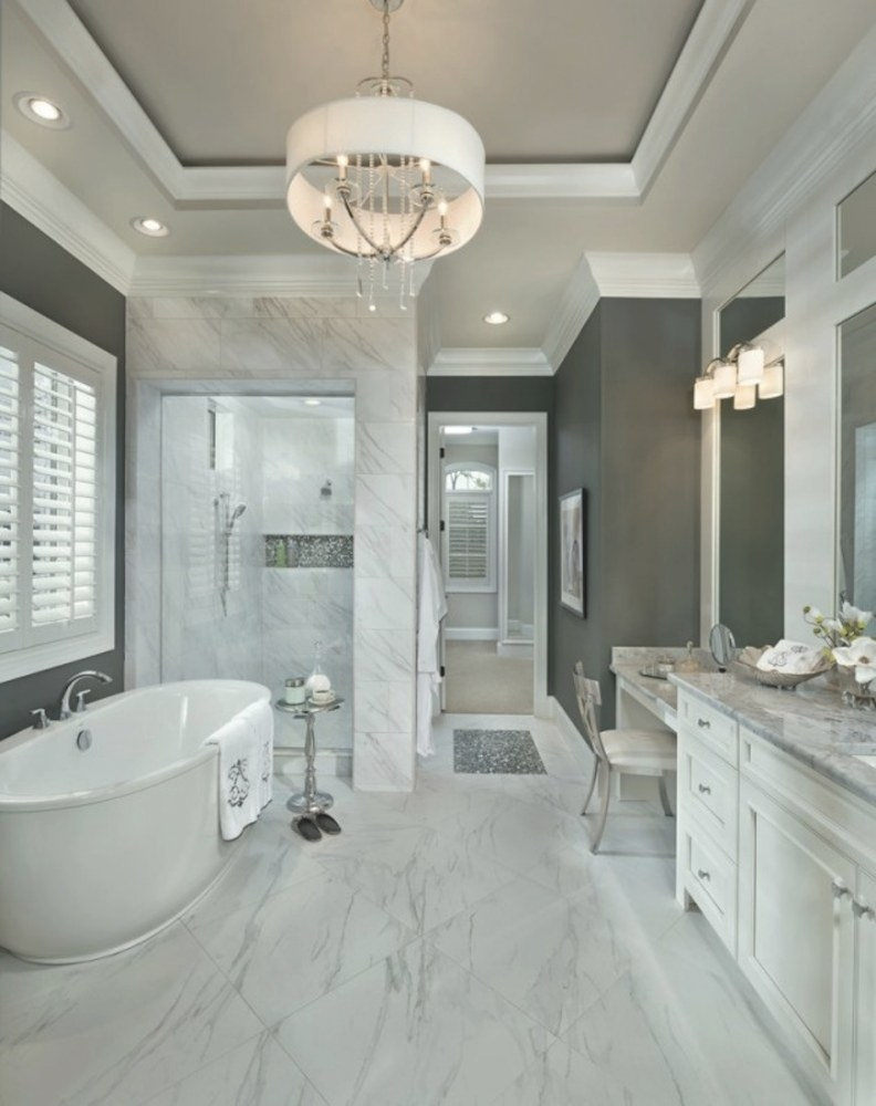 Bathroom Design Ideas: 10 Stunning Transitional Ideas To intended for Pictures Of Nice Bathrooms