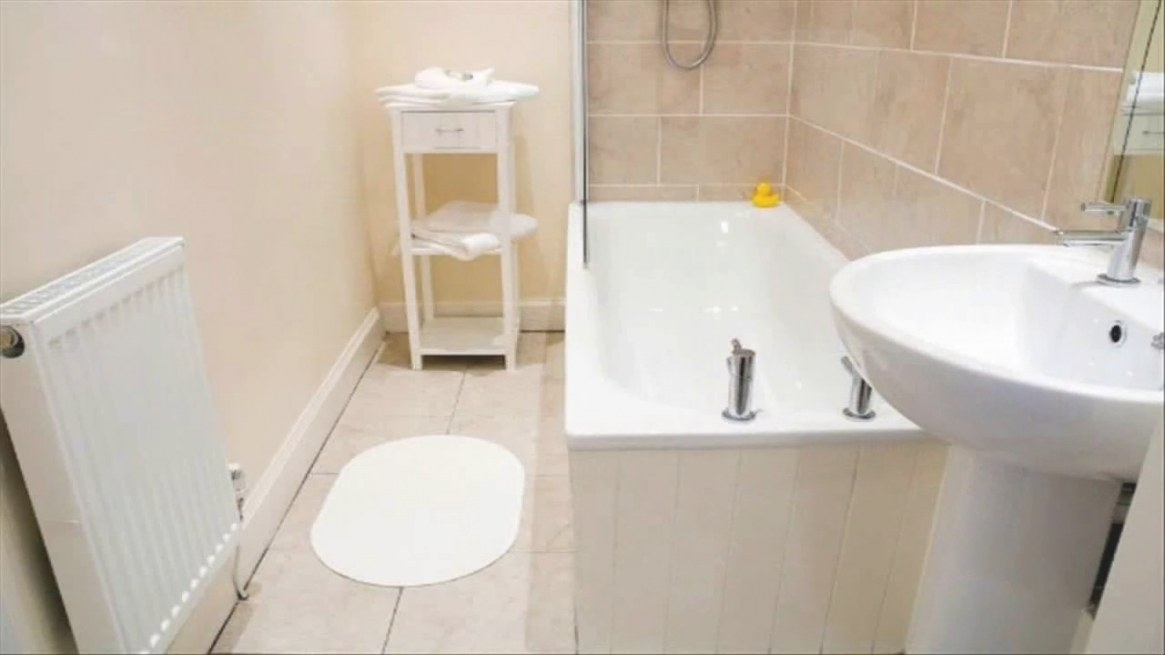 Bathroom Paint Ideas With Beige Tile - Youtube within Picture Of A Bathroom