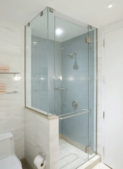 Bathroom / Shower - Metal Trim | Bathroom Remodel Shower in Bathtub Designs For Small Bathrooms
