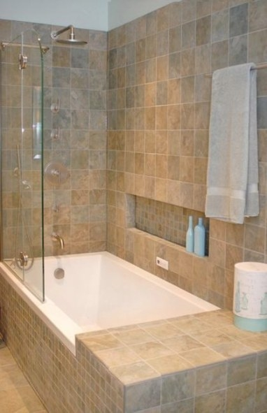 Bathroom Tiles Creating Beautiful Modern Bathtub Covering pertaining to Soaking Tub Shower Combo