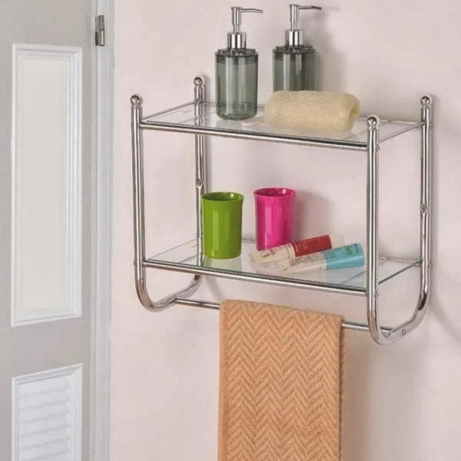Bathroom Towel Racks - Bedroom And Bathroom Ideas with Towel Racks For Small Bathrooms