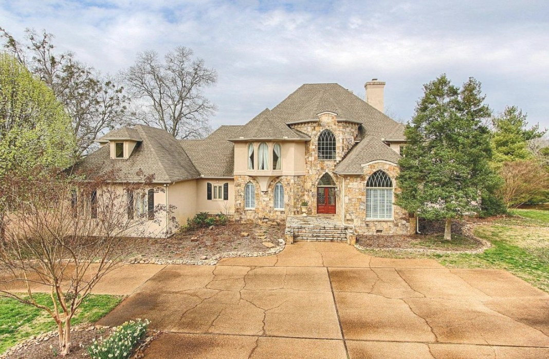 Beautiful Custom Built Stone And Stucco Home | Tennessee for Stucco And Stone Homes