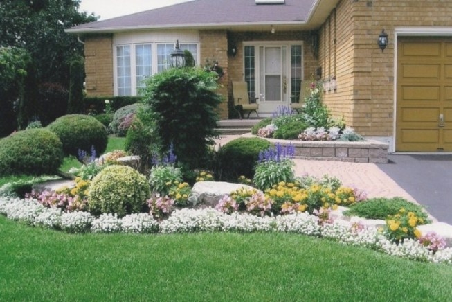 Beautiful Front Yard Landscaping Ideas intended for Front Yard Landscaping Ideas