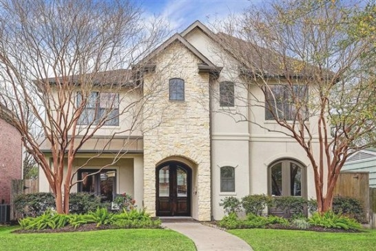 Beautiful Stone And Stucco Home In The Heart Of Bellaire inside Stucco And Stone Homes