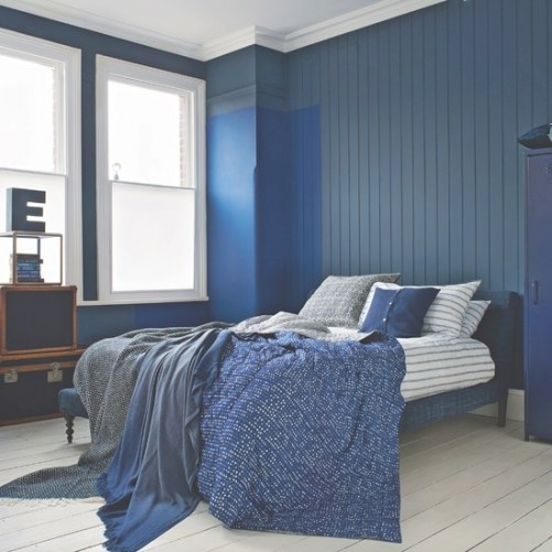Bedroom Ideas And Colour Schemes - Home Delightful throughout Cream And Blue Bedrooms