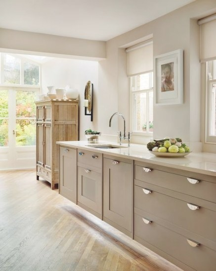Beige Classic Kitchen | Beige Kitchen, Luxury Kitchens in White And Beige Kitchen