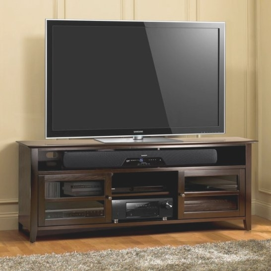 Bell'O Wavs99175 75-Inch Dark Espresso Tv Stand For Tvs Up throughout 80 Inch Tv Stand