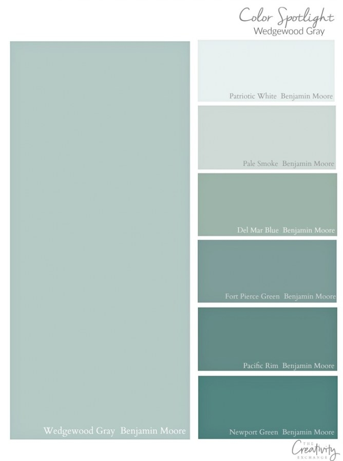 Benjamin Moore Wedgewood Gray: Color Spotlight for Shades Of Grey Color