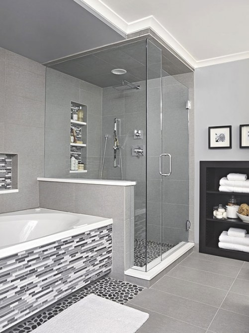 Black And White Bathroom Ideas | Better Homes & Gardens for Black And Gray Bathroom