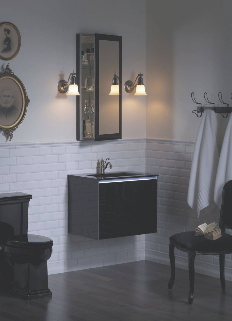 Black Toilet And Vanity | Bathroom Design Black, Bathroom with Picture Of A Bathroom