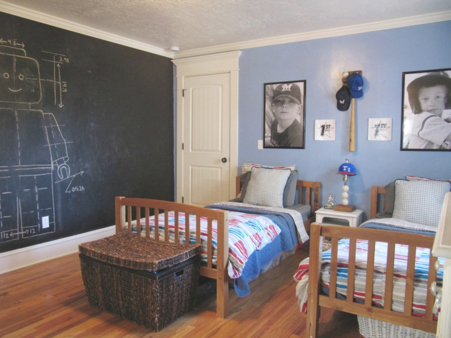 Boys Room Reveal - The Wicker House in Pictures Of Boys Bedrooms