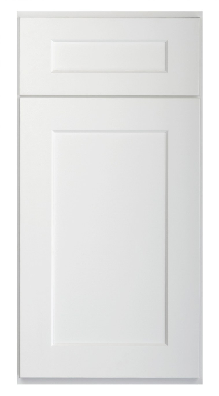 Brilliant White Shaker - Ready To Assemble Kitchen with regard to White Kitchen Cabinet Doors
