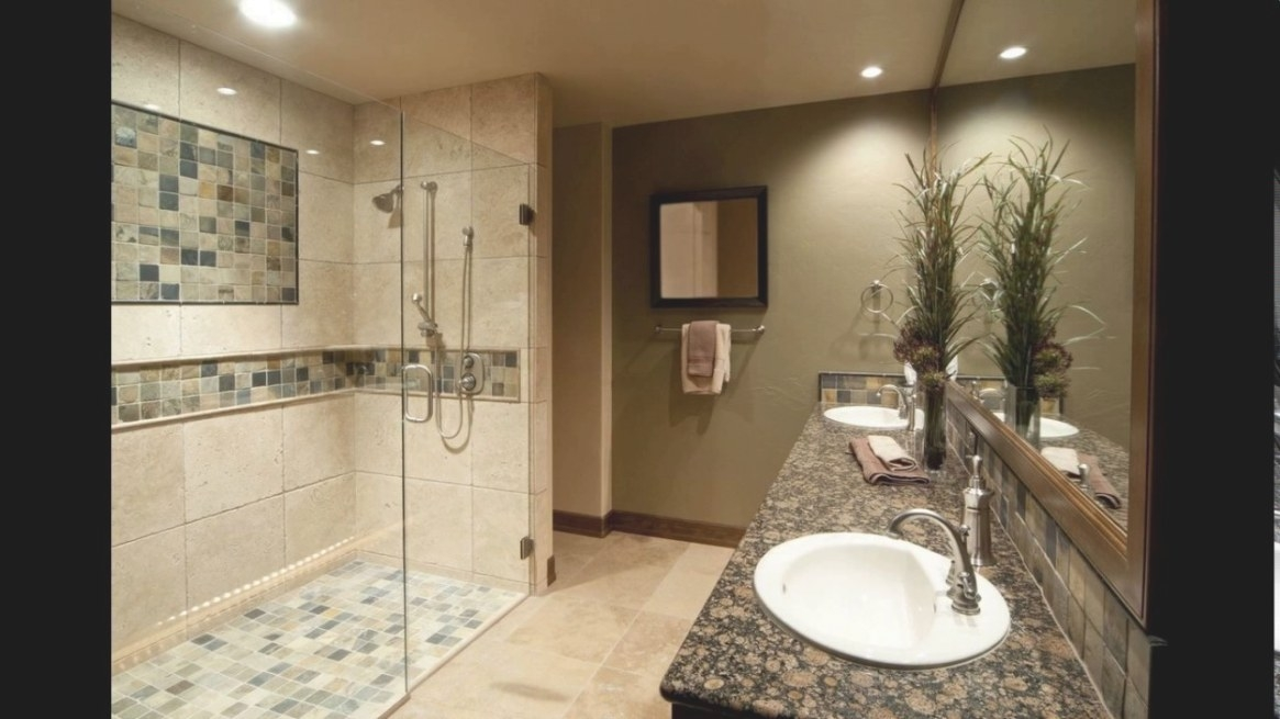 Brown And Cream Bathroom Designs - Youtube inside Picture Of A Bathroom
