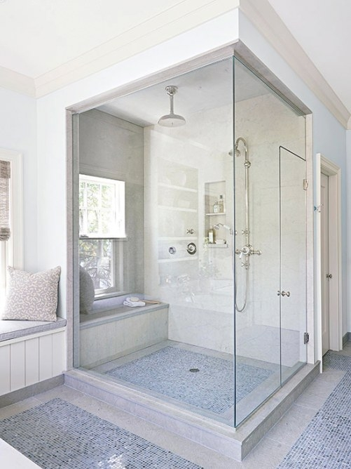 Building A Walk In Shower | Better Homes & Gardens throughout Walk In Shower With Bench