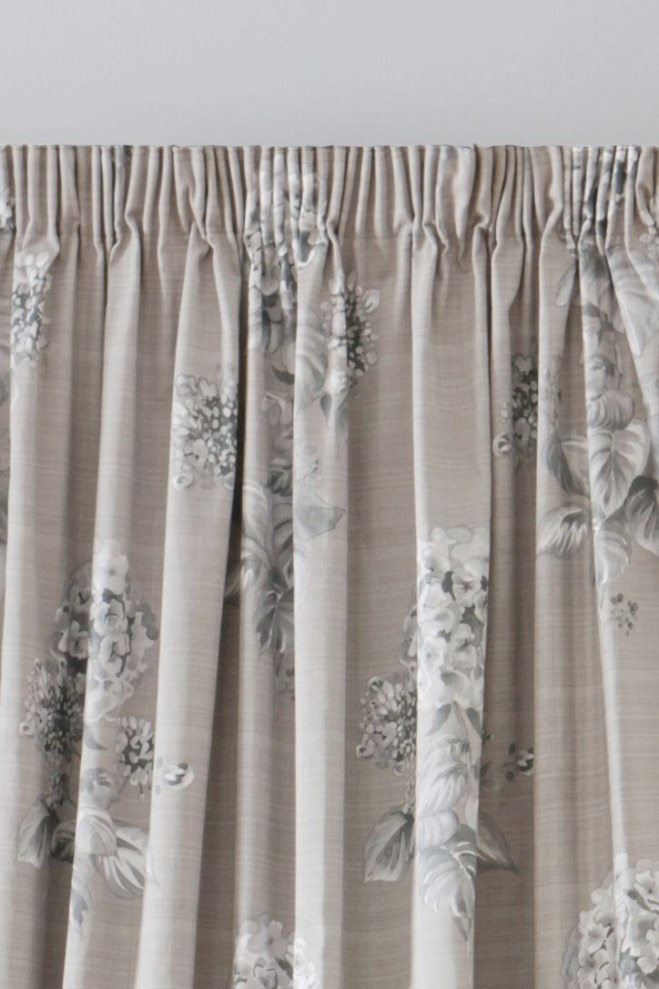 Buy Elegant Hydrangea Print Pencil Pleat Curtains From The inside Where To Buy Curtains