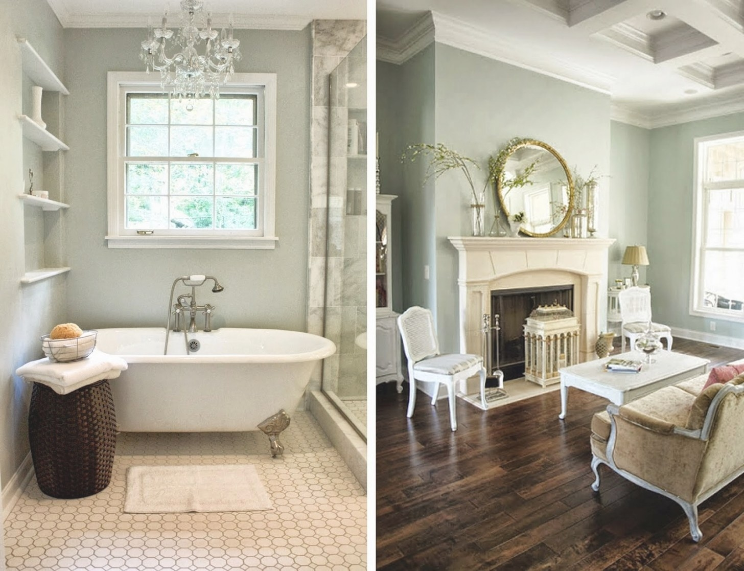 C.b.i.d. Home Decor And Design: The Dallas Wedding for Benjamin Moore Sea Salt