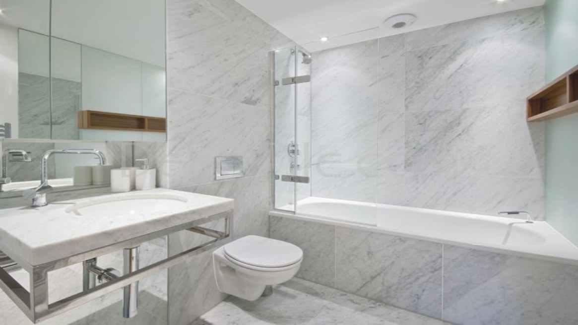 Carrara Marble Bathroom, White Carrara Marble Bathroom with White Marble Tile Bathroom
