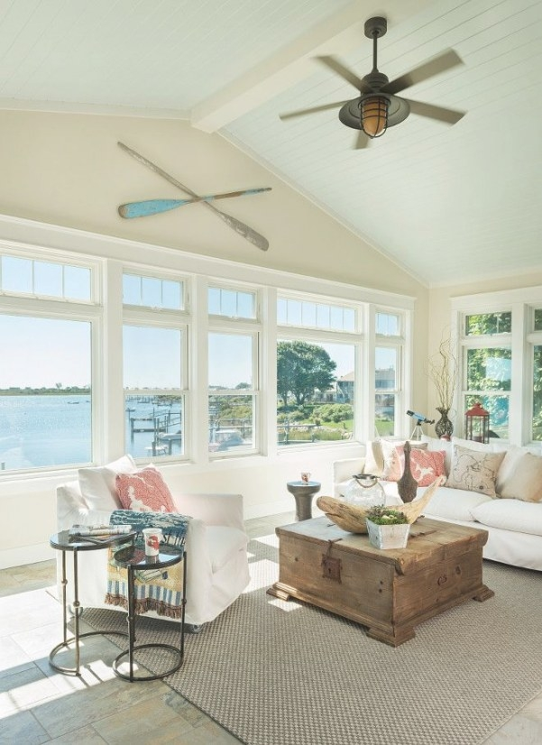 "Ceiling Paint Color Is ""Sherwin Williams Sea Salt"". Trim intended for Benjamin Moore Sea Salt"