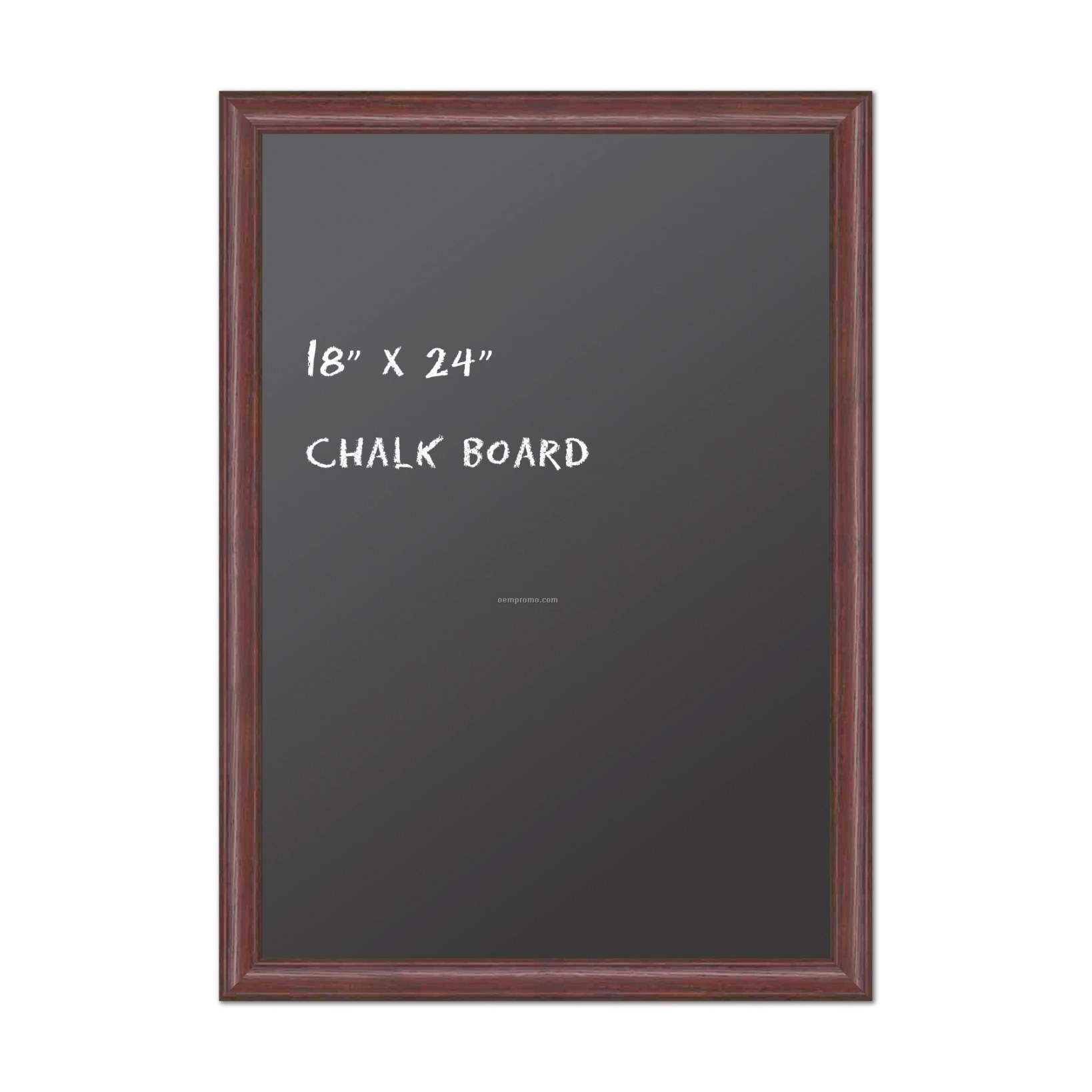 "Chalk Board 18"" X 24"". Real Wood Frame - Honey Oak Finish with regard to 18 X 24 Frame"