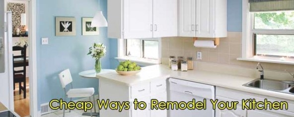 Cheap Ways To Remodel Your Kitchen - Edconstable Team throughout Best Way To Remodel Kitchen