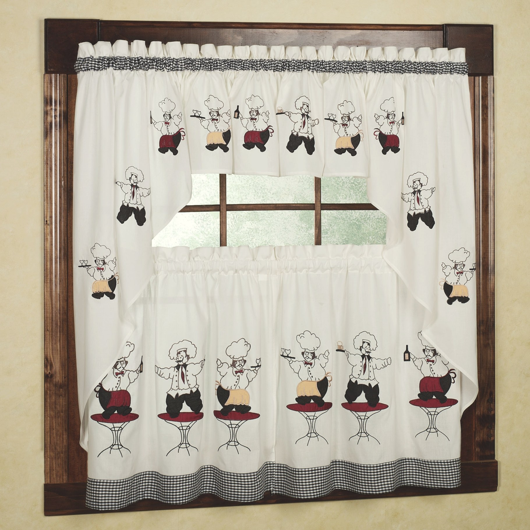 Chef Kitchen Curtains Images, Where To Buy? » Kitchen Of intended for Where To Buy Curtains