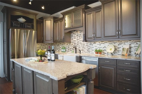 Cherry Kitchen Cabinets :: Kitchens With Cherry Cabinets regarding Cherry Wood Cabinet Kitchens