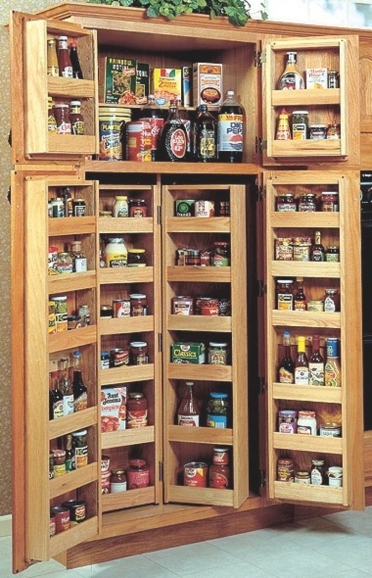 Choosing A Kitchen Pantry Cabinet / Design Bookmark #4110 for Pantry Ideas For Kitchens
