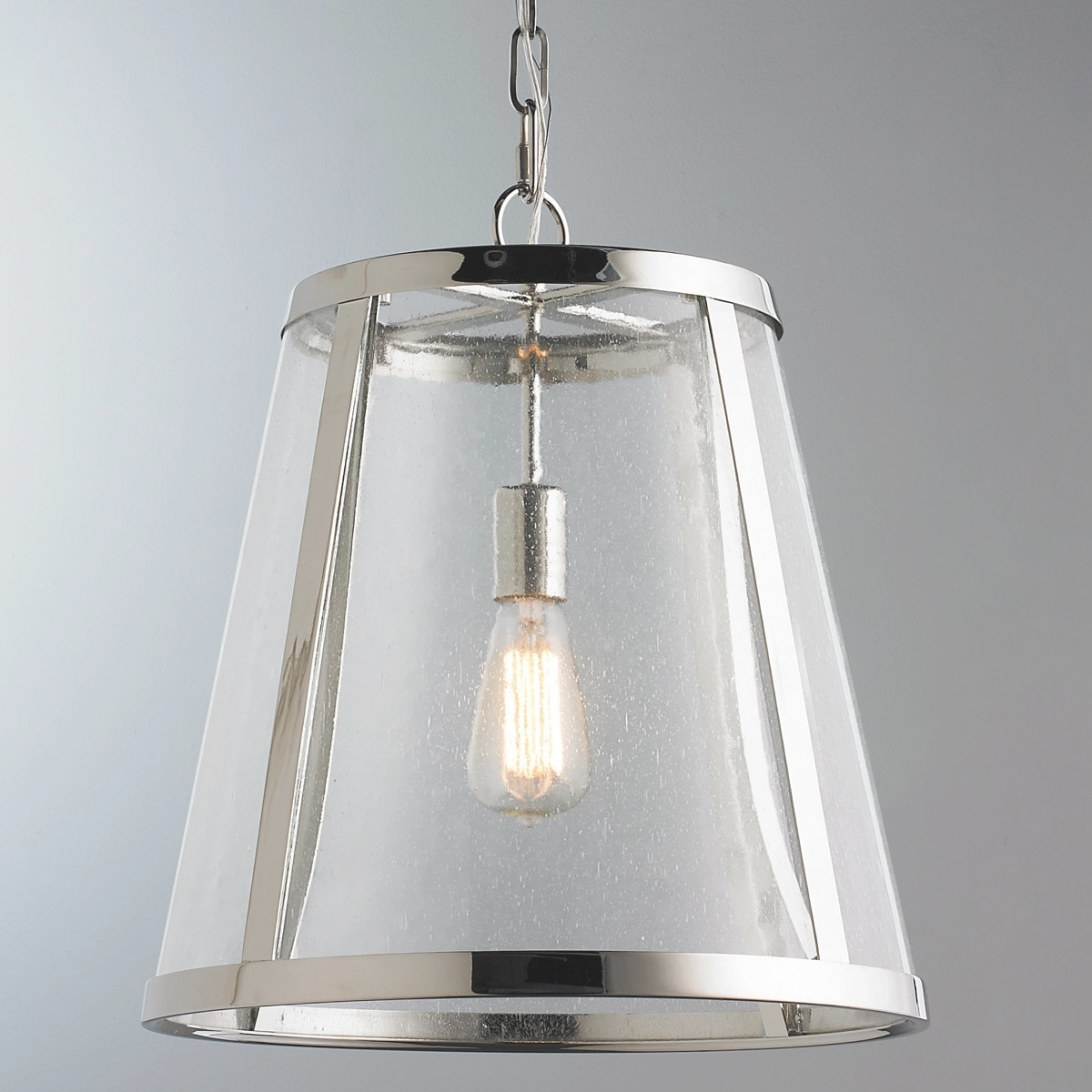 Clear Seeded Glass Mini Pendant Light Norbello One Blue inside Seeded Glass Pendant Light