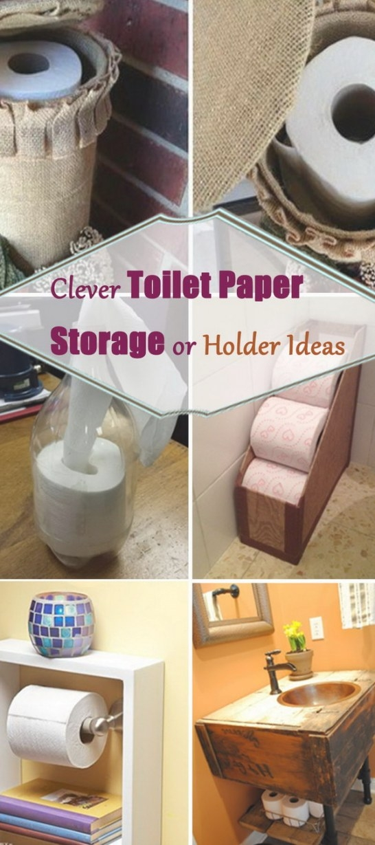 Clever Toilet Paper Storage Or Holder Ideas - Hative with regard to Where To Put Toilet Paper Holder In Small Bathroom