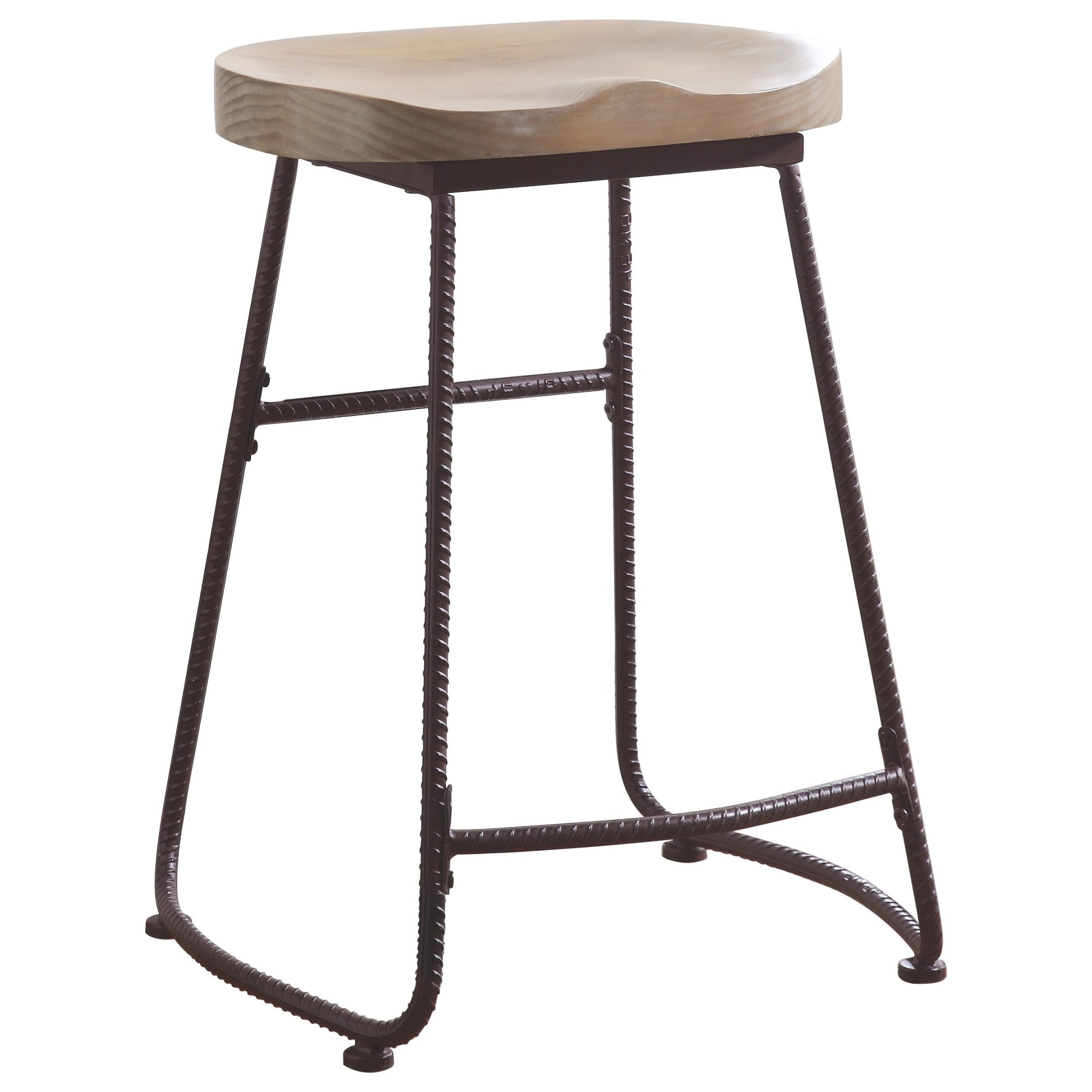 Coaster Dining Chairs And Bar Stools Rustic Counter Height for Counter Height Bar Stools