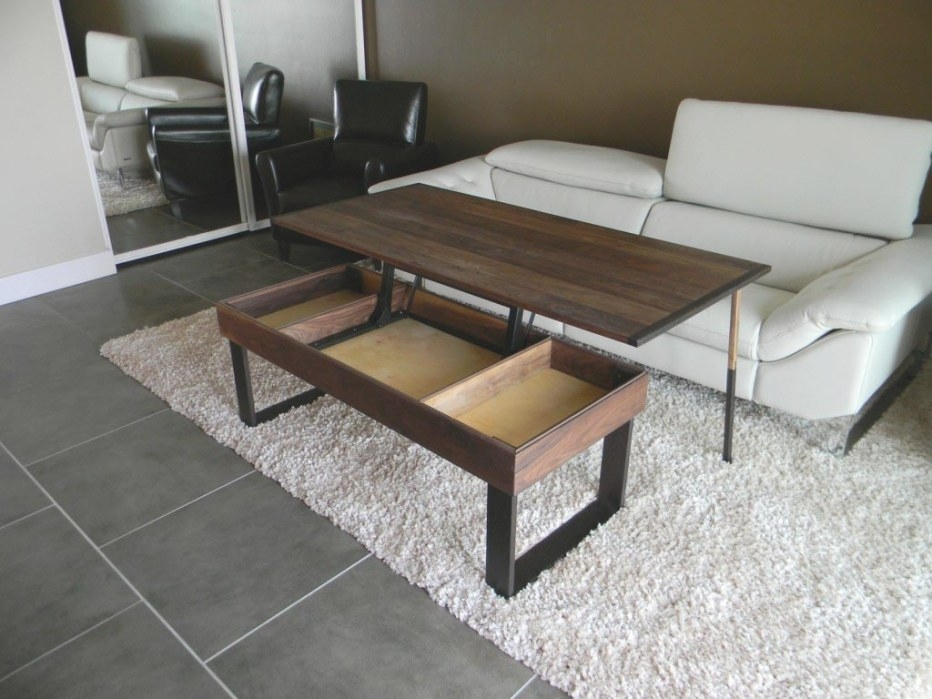 Coffee Table With Adjustable Height | Coffee Table Design with regard to Adjustable Height Coffee Table