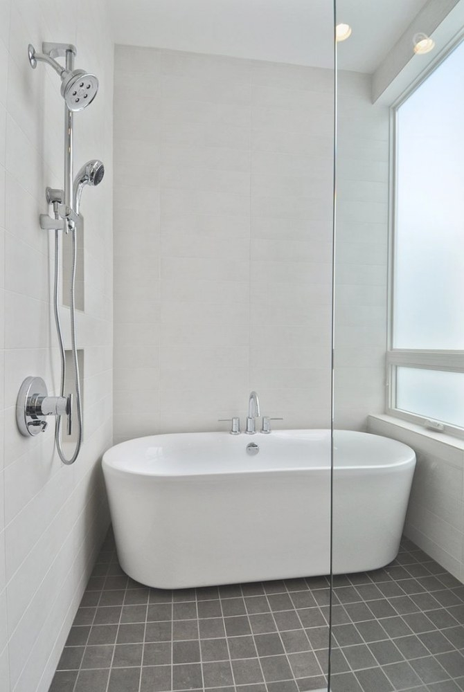 Complete Your Charming Bathroom With Freestanding Tubs intended for Free Standing Tub Shower