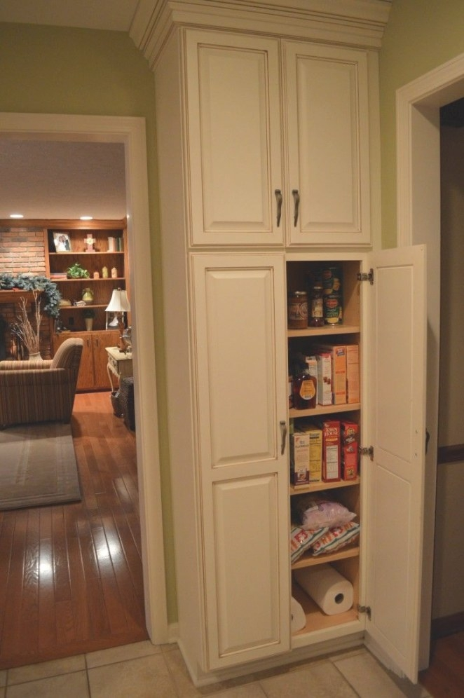 Corner Pantry Cabinet Freestanding - Google Search | For regarding Kitchen Pantry Storage Cabinet