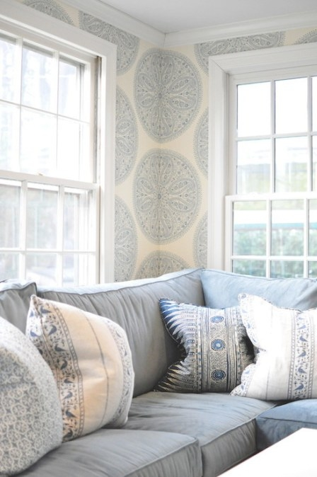 Cream And Blue Living Room Design Ideas in Cream And Blue Bedrooms