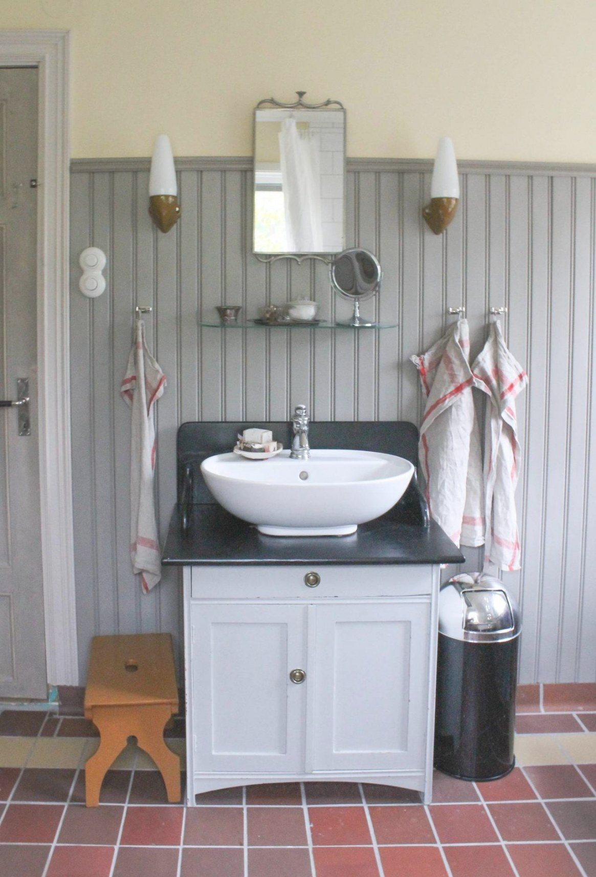 Creating A Vintage Bathroom Lighting Design | Certified pertaining to 3/4 Bathroom Layout