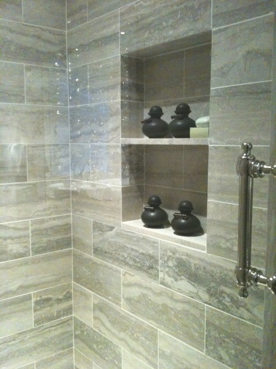 Creed: Nyc - Kips Bay Show House 2010 in 12X24 Tile In Small Bathroom