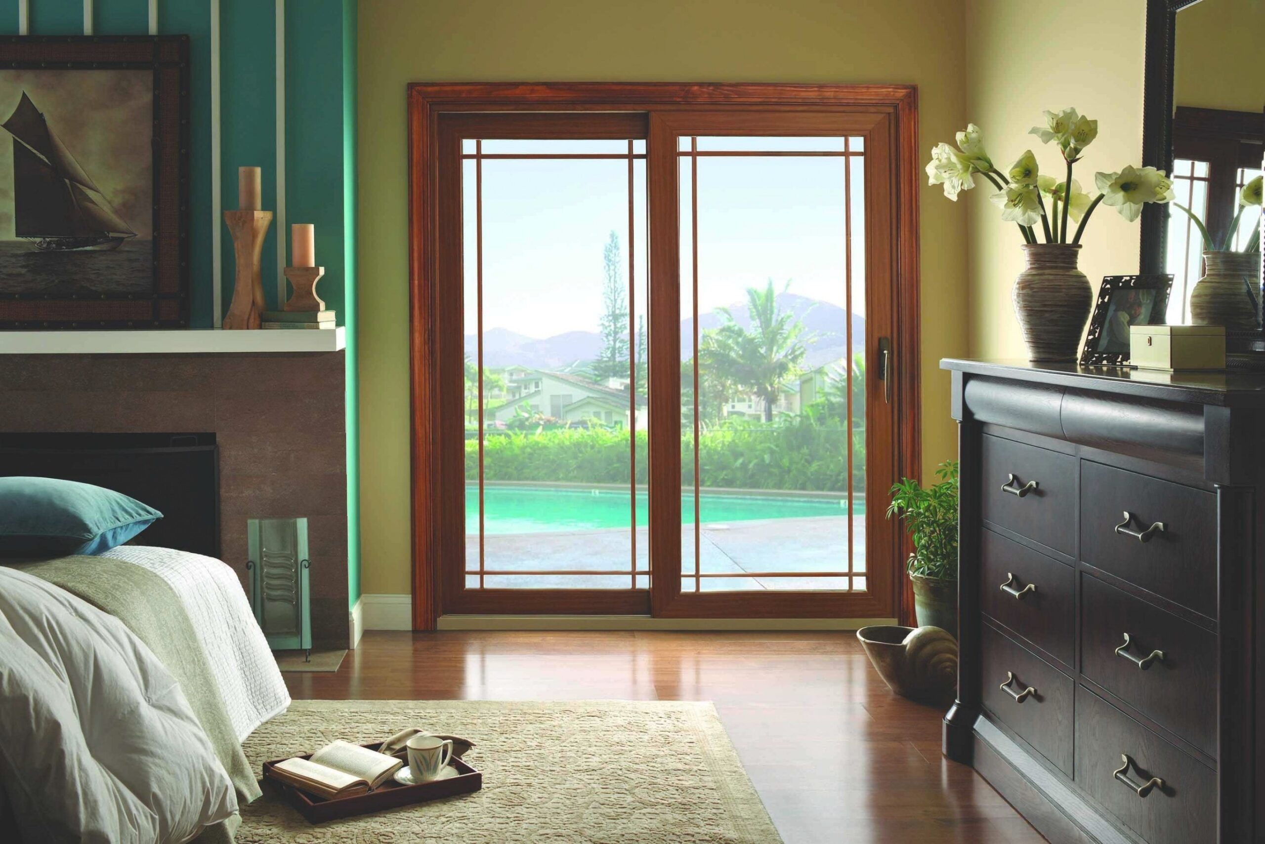 Custom Sliding Patio Doors - American Thermal Window pertaining to Best Sliding Glass Doors