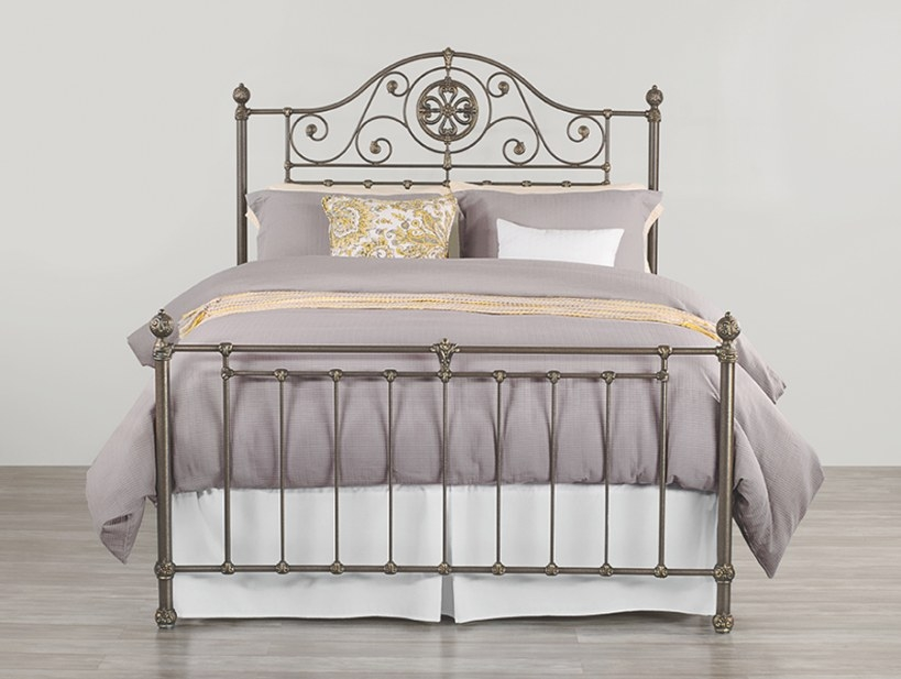 Danbury Iron Bedwesley Allen | Sleepworks throughout Wesley Allen Iron Beds
