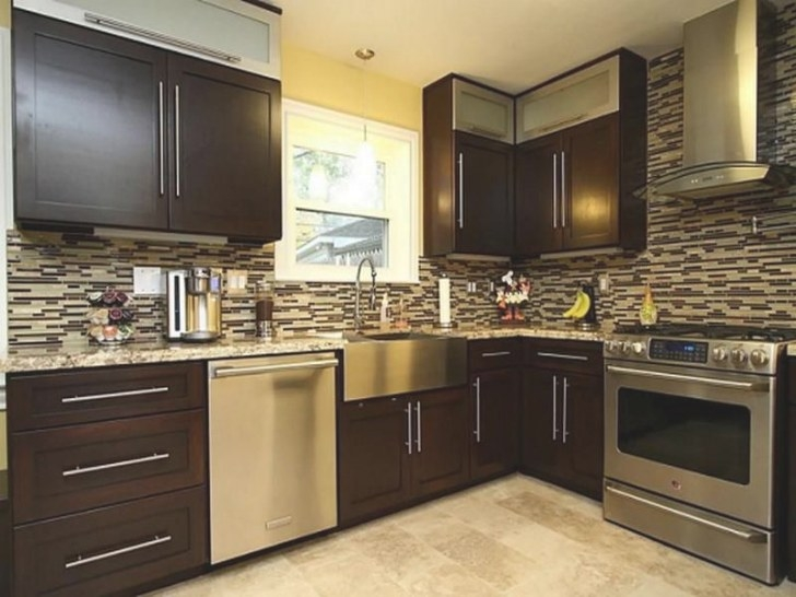 Dark Brown Kitchen Cabinets Modern Cabinet Designs With with regard to Dark Brown Kitchen Cabinets