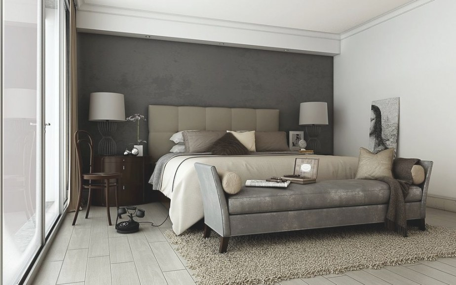 Déco: Quelle Couleur Est Le Taupe Et Comment L'utiliser throughout Grey And Tan Bedroom