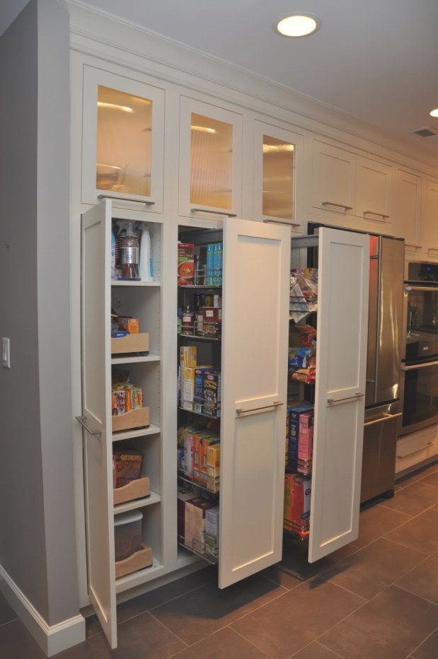 Decorate Ikea Pull Out Pantry In Your Kitchen And Say throughout Pantry Ideas For Kitchens