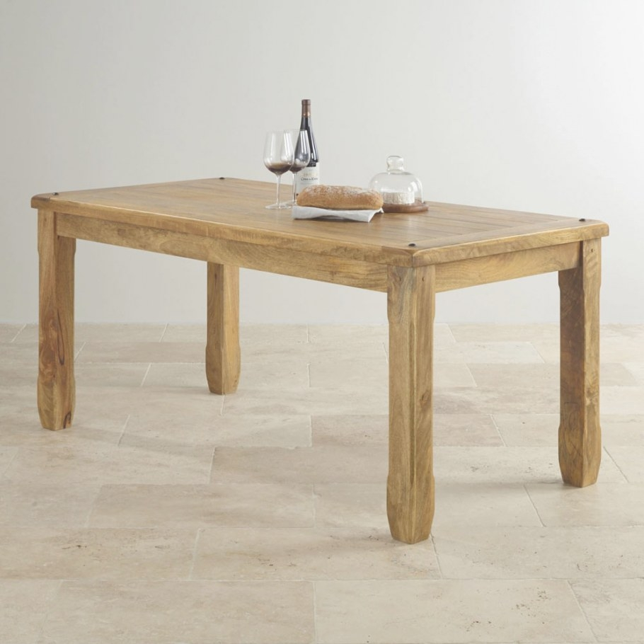 Dining Table, Mango Wood – Wood Décor throughout Mango Wood Dining Table