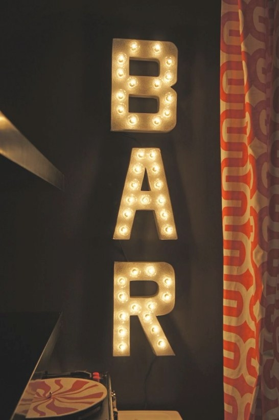 Diy Marquee Lights | Man Cave Basement, Light Up Signs with regard to Light Up My Home