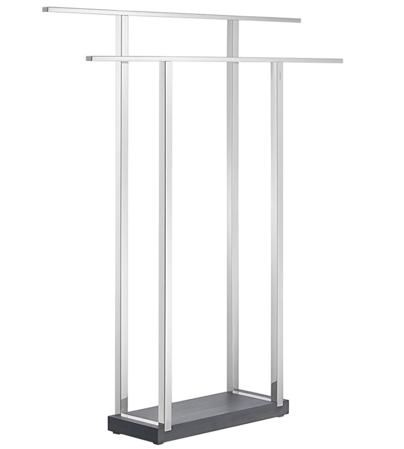 Double Towel Stand In Free Standing Towel Racks within Free Standing Towel Rack