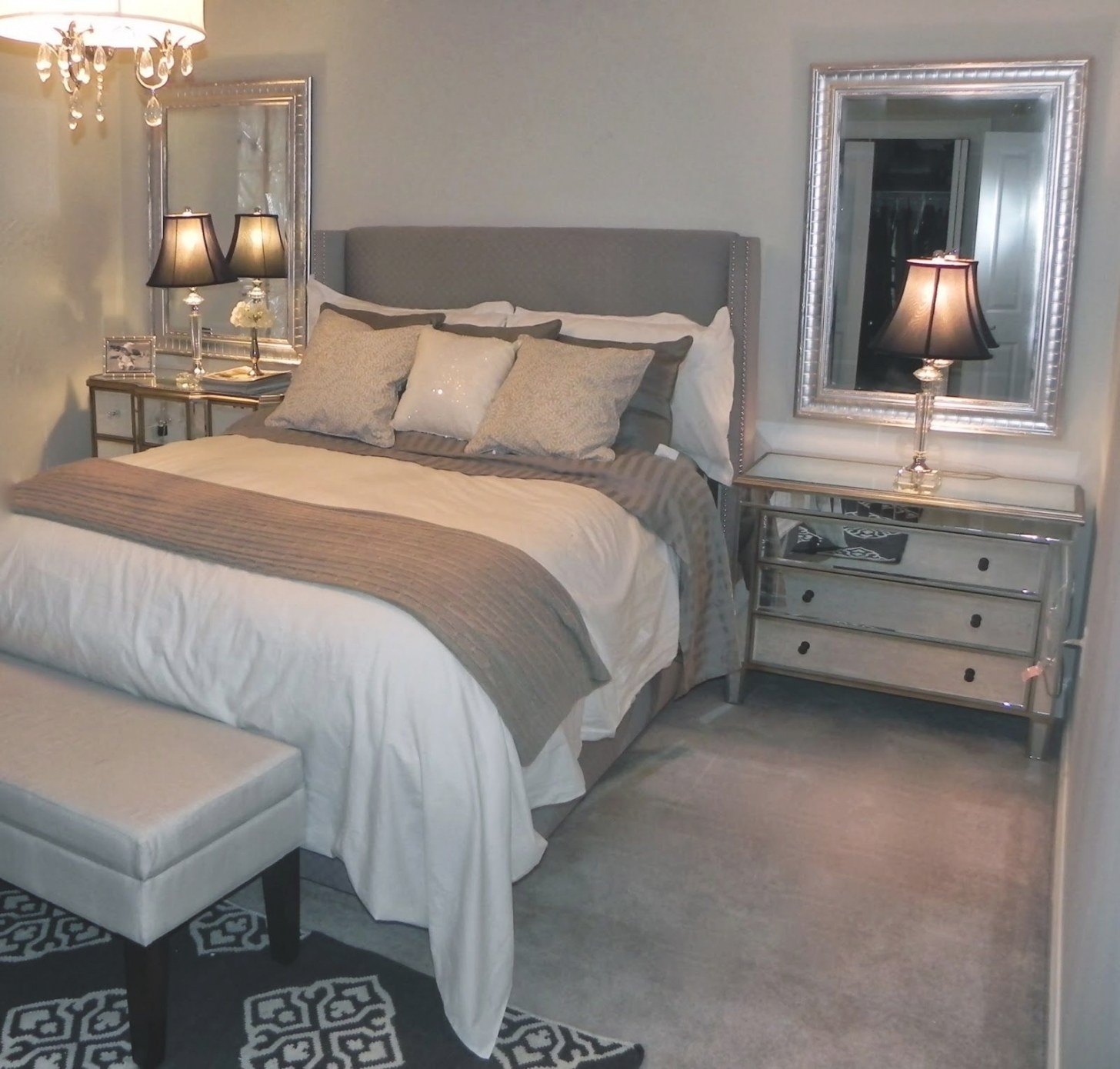 Dscn3171 1,600×1,528 Pixels | Beige Bedroom, Remodel inside Grey And Tan Bedroom