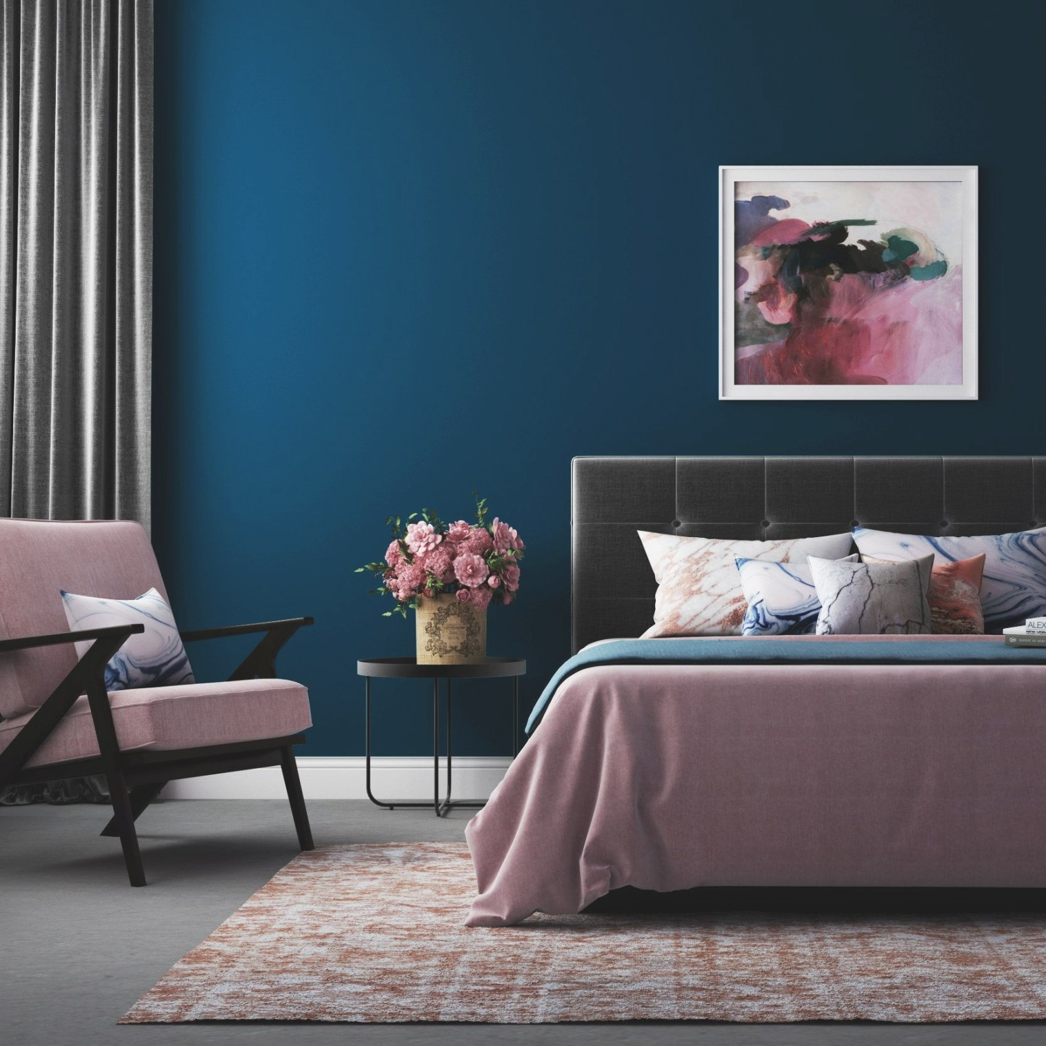 Embellish Your Bedroom With The Best Paint Color System As within What Is The Most Relaxing Color For A Bedroom