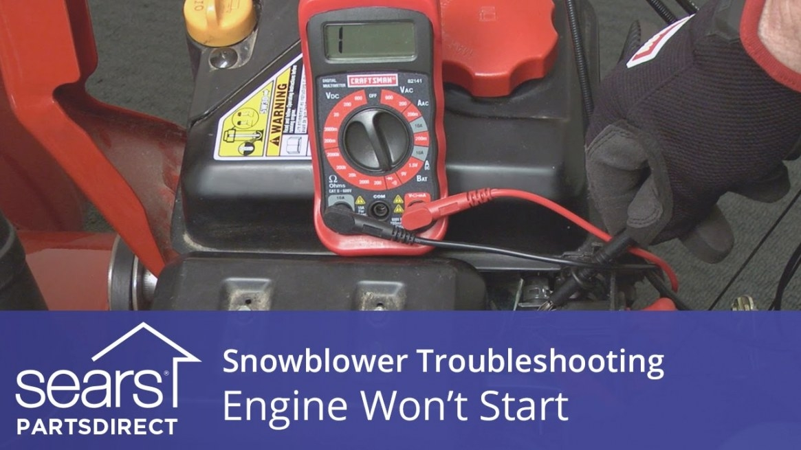 Engine Won't Start: Snowblower Troubleshooting – Small within Briggs And Stratton Lawn Mower Won'T Start After Sitting