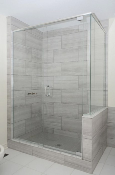 Eramosa Ice 12X24 Porcelain Tile | Patterned Bathroom throughout 12X24 Tile In Small Bathroom