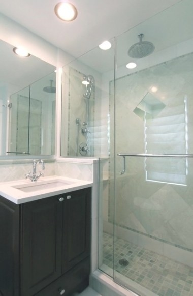 Evanston Small Master - Traditional - Bathroom - Chicago for 3/4 Bathroom Layout