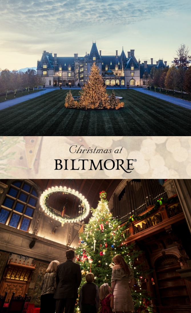 Experience The Most Enchanting Time Of The Year At in Biltmore Hearth And Home
